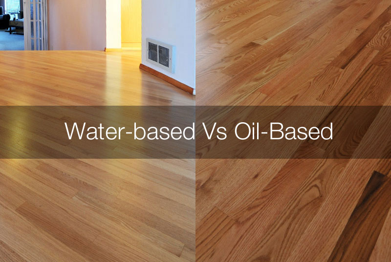 Water-based polyurethane vs Oil-based polyurethane
