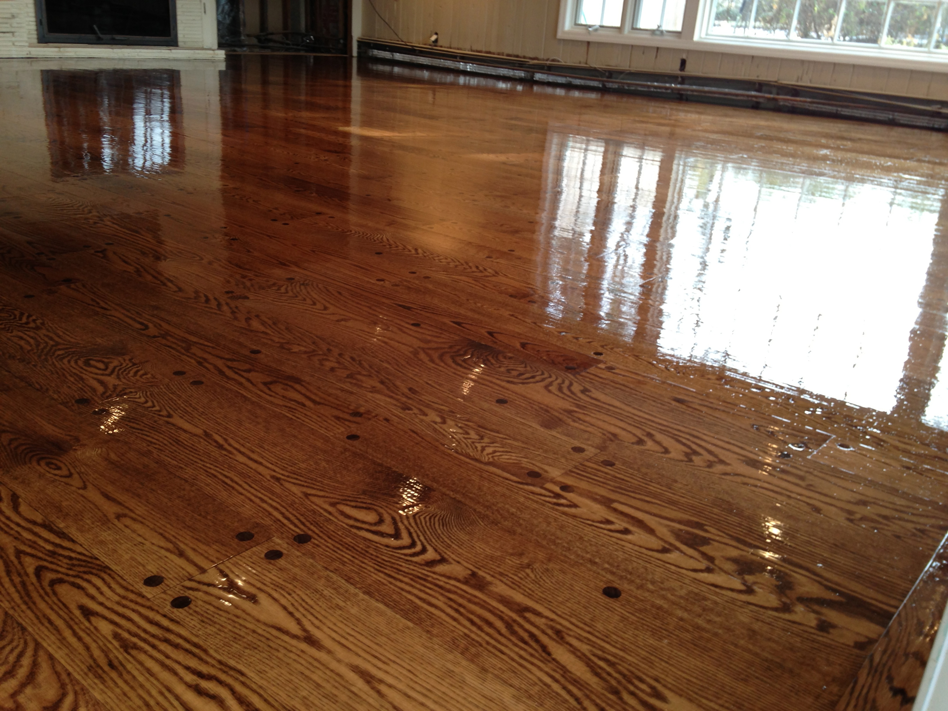 Brand new old floors :)