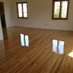 Select White Oak coated with Oil Based Polyurthen