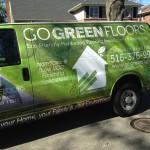 Our Go Green Floors Van