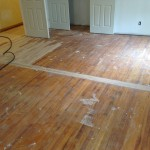 Damaged floor need to be replaced.