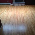 Red Oak Floor Refinished.