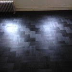 Overview of the this Rubio Parquet floor in Brooklyn
