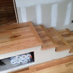 Customer wanted Red Oak Flooring installed on stairs.  This is Red Oak No. 2 Grade.