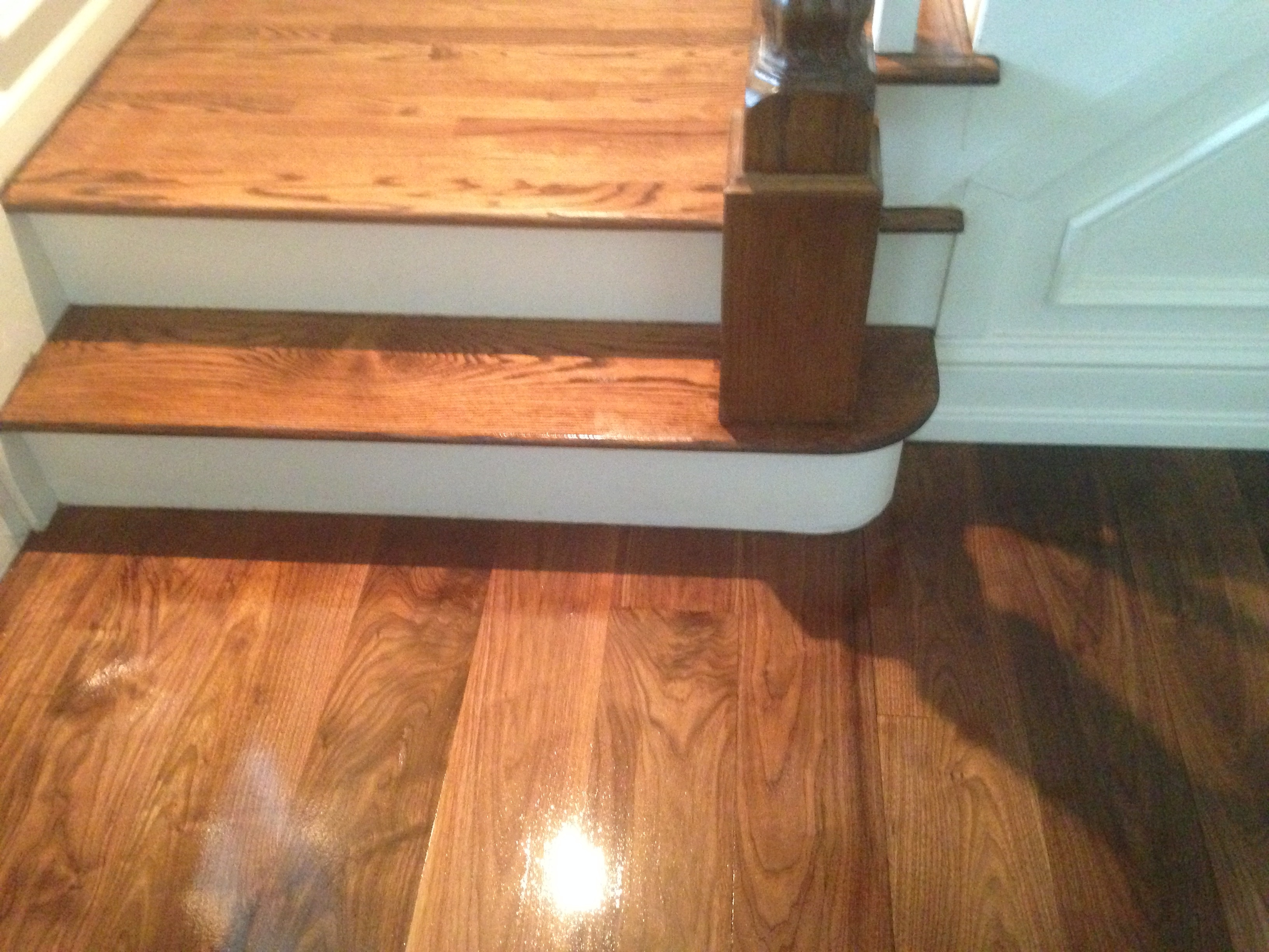 new hardwood duffyfloors unfinished color floors of patching unfinshed the old and matching